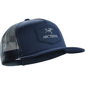 Arc'teryx Hexagonal Patch Trucker Hat midnight